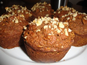 Pumpkin Muffins | Finished