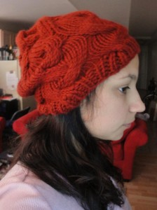 Slouchy Beret (finished)